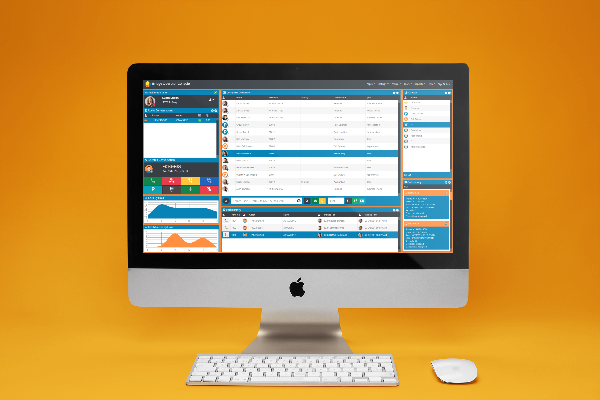 RingCentral Attendant Console